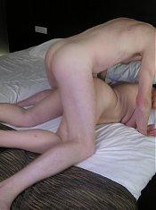 Mature slut sucking and fucking hard and long